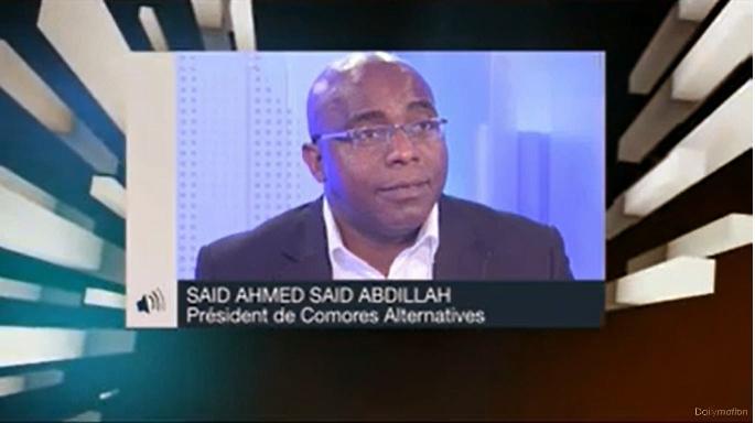 Saïd-Abdillah Saïd-Ahmed: tsunami dans l'océan Indien
