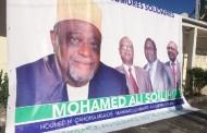 Le candidat Mohamed Ali Soilihi en campagne électorale
