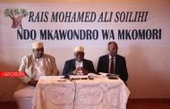 Mohamed Ali Soilihi, «artisan du développement», mobilise