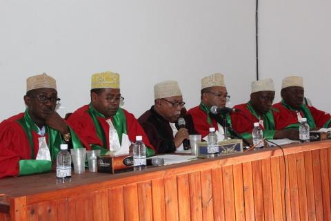 Très fiers de notre Cour constitutionnelle
