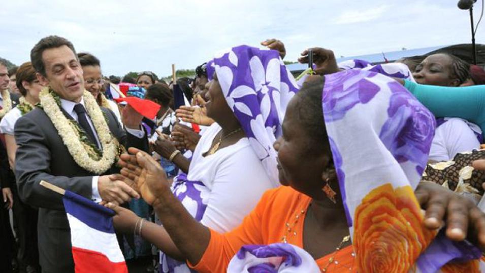 Nicolas Sarkozy et le droit du sol à Mayotte