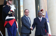 Le Colonel Azali Assoumani reçu à l'Élysée