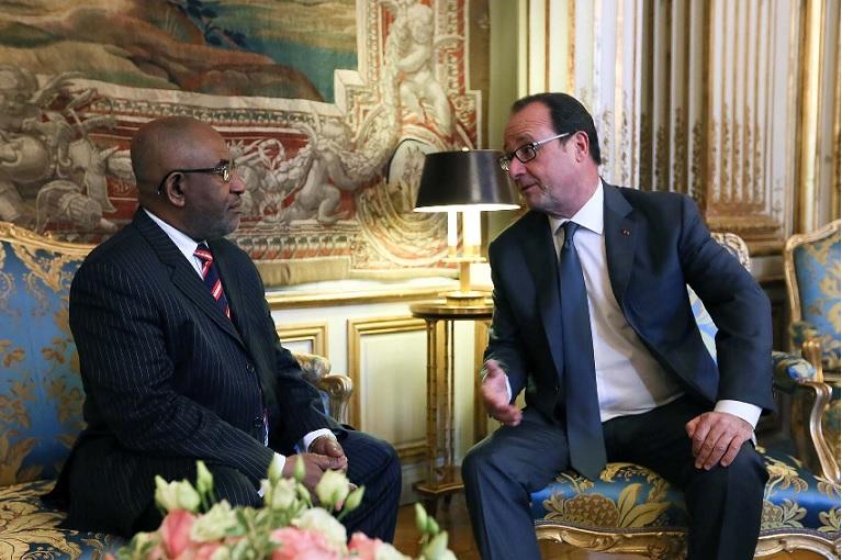 Azali Assoumani, sous-préfet du Préfet de Mayotte