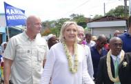 Polémiques sur le voyage de Marine Le Pen à Mayotte