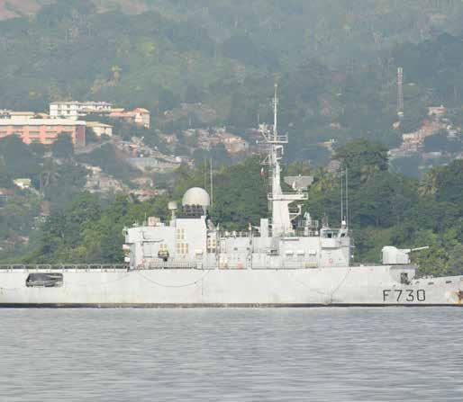 Stages et manœuvres à la base navale de Mayotte
