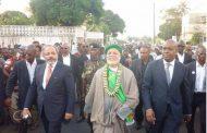 Fahmi Saïd Ibrahim accueilli par le peuple à Hahaya