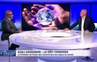 Azali Assoumani a failli mourir dans un avion à Zanzibar