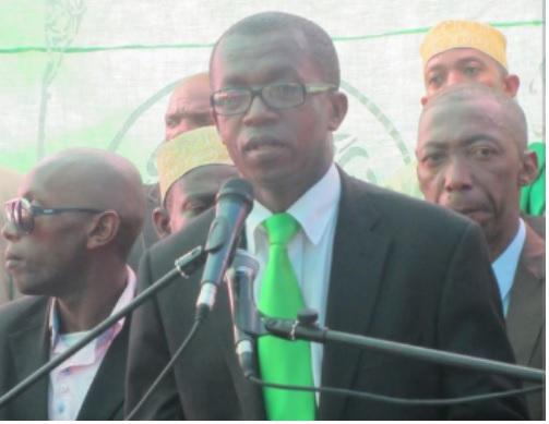 Djaé Ahamada Chanfi sabote la marche du 2-Avril