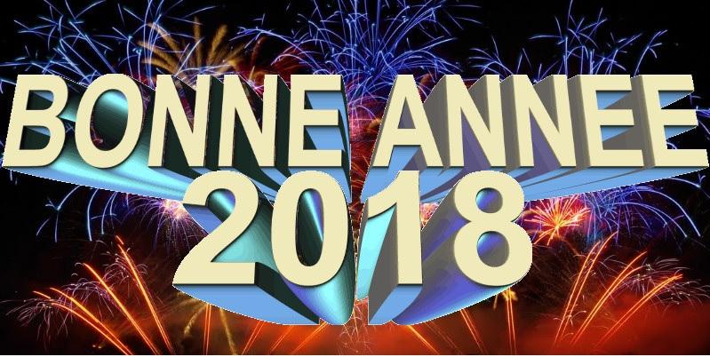 Nos meilleurs vœux à tous et à toutes pour l'année 2018