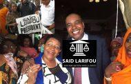 Saïd Larifou crée l'avocat qui entre en politique