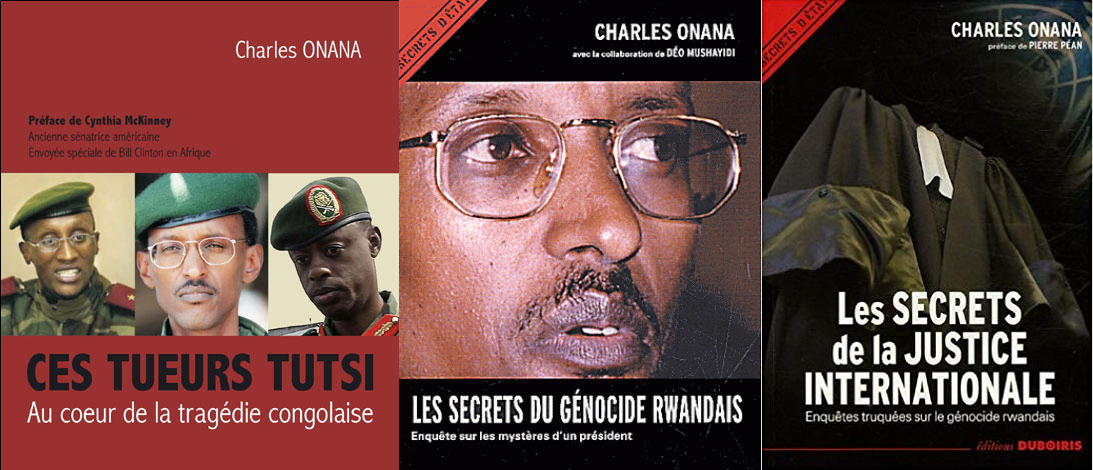 Assoumani Azali, Charles Onana et Paul Kagamé