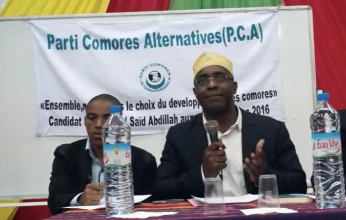 L'utopie crapuleuse du Parti Comores Alternatives