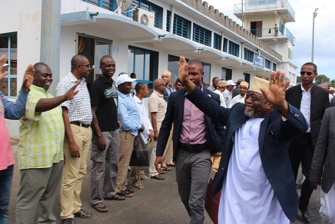 La candidature de Mohamed Ali Soilihi en danger