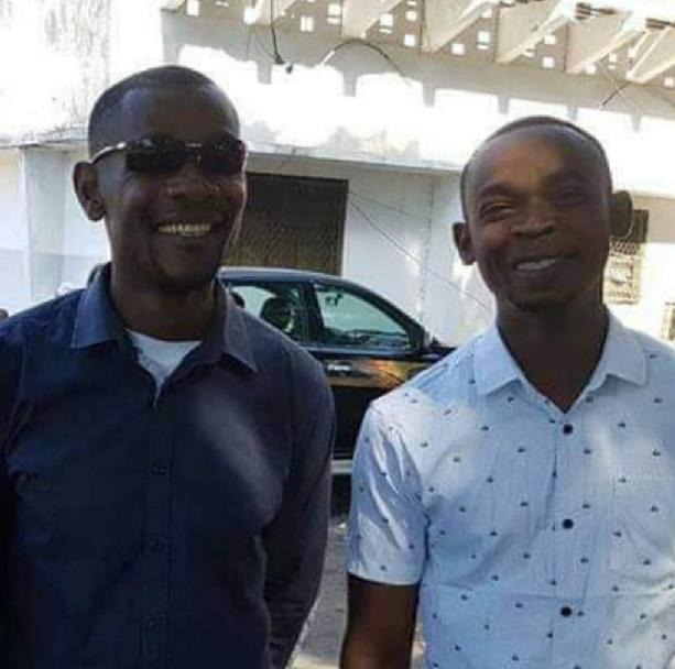 Abdallah Agwa et Oubeidi Mchangama Athoumane