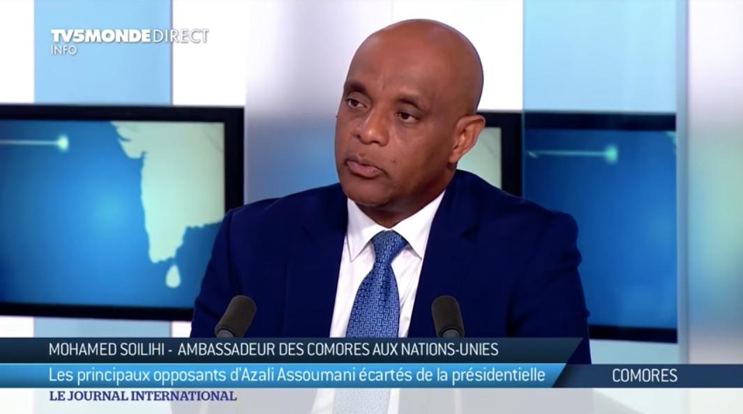 Soilih Mohamed Soilih évoque le Soudan et l'Algérie