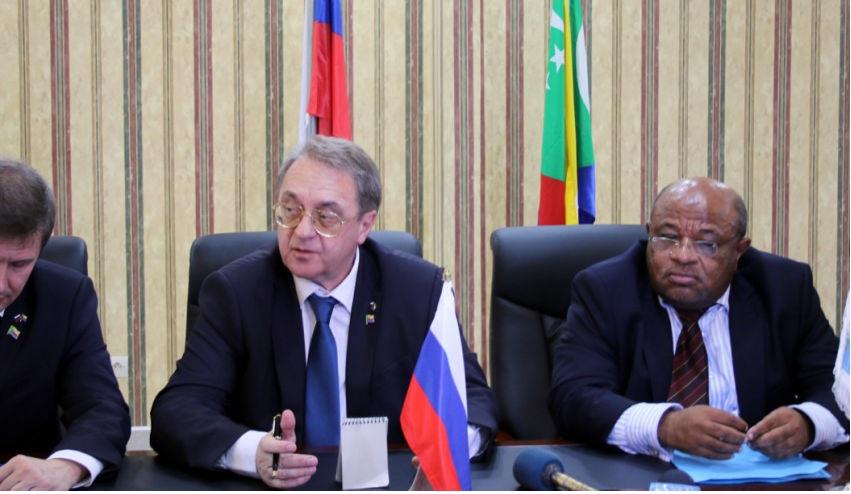 La Russie de Poutine soutient la tyrannie aux Comores