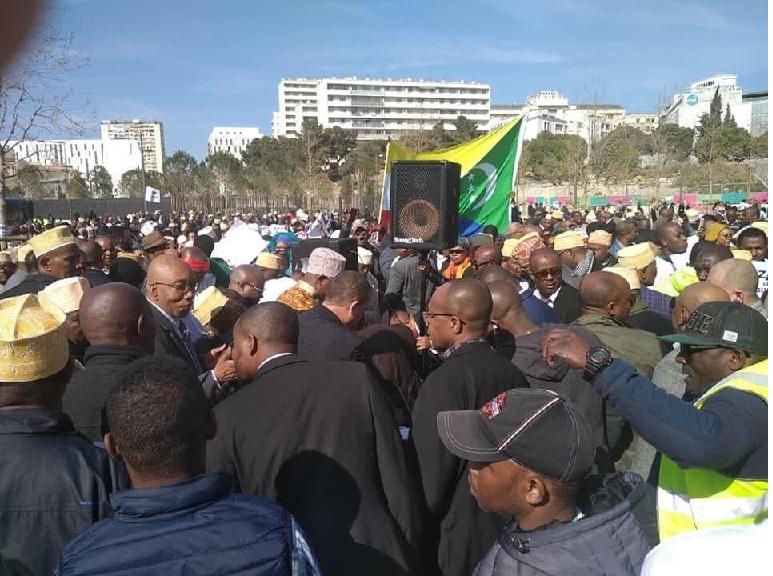 Les Comoriens vivant en France contre les «59,09%»