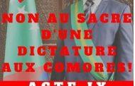 «L'investiture» du dictateur se fera dans la honte et deuil