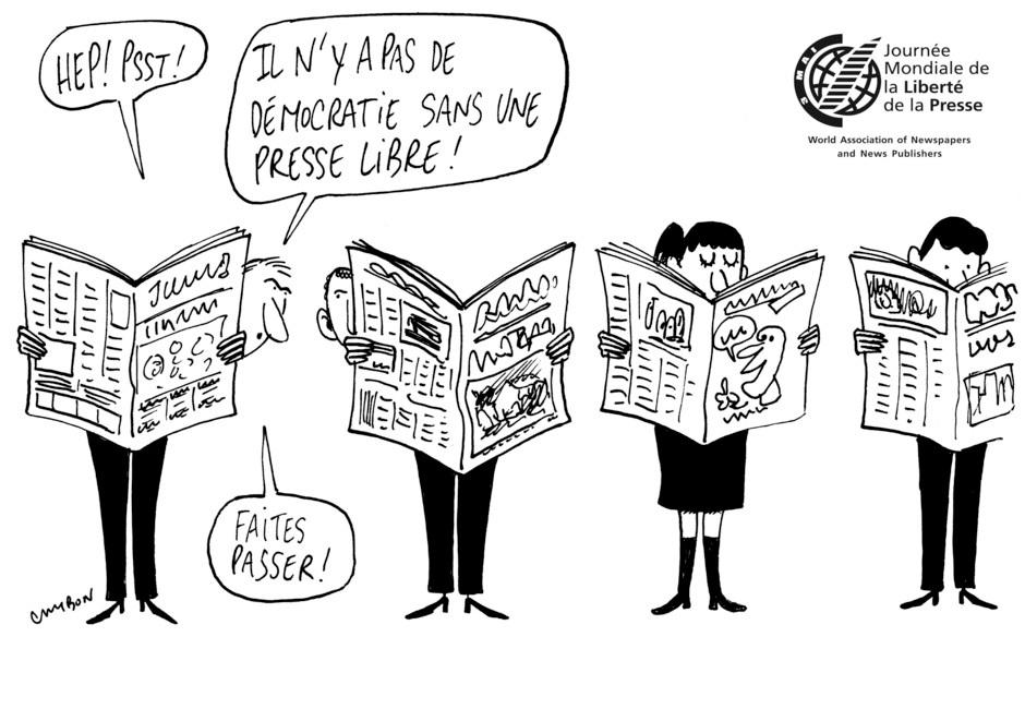 Enterrement de la liberté de la presse aux Comores