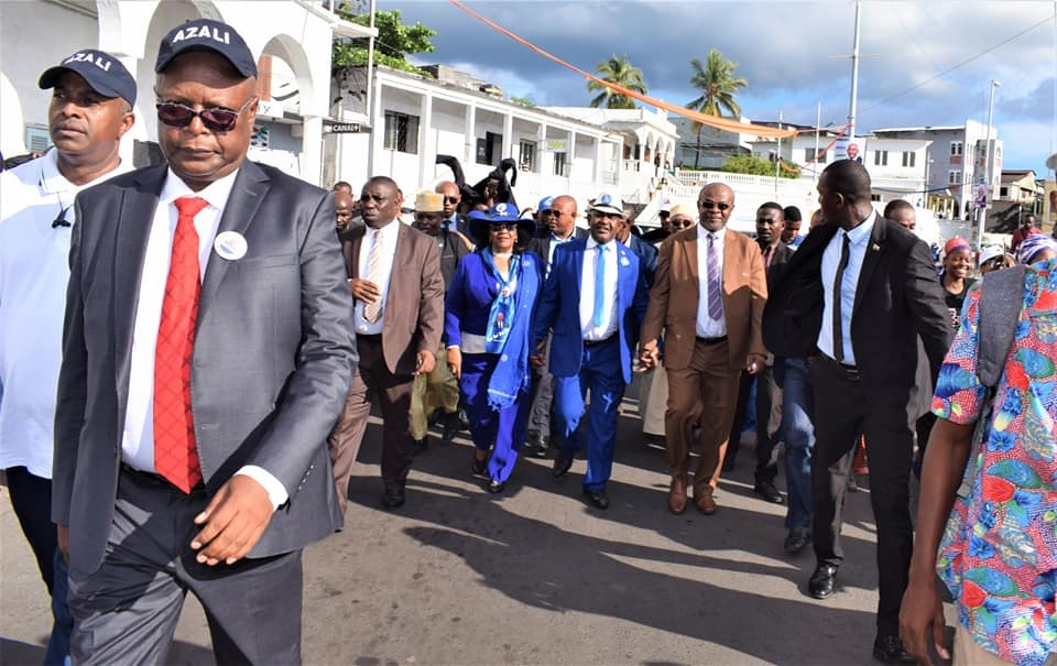 Mouigni Baraka et Houmed Msaïdié pactisent sec