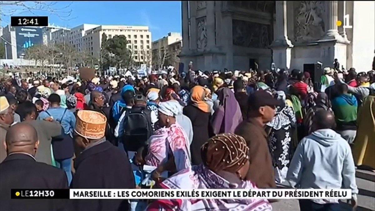 La fin des vanités de politicards comoriens en France