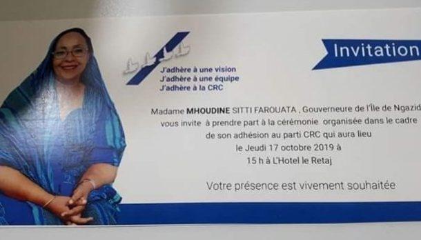 La Faourata dégoûte les Comoriens par sa mendicité