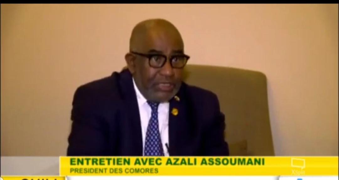 Pour Assoumani Azali, tout va très bien aux Comores