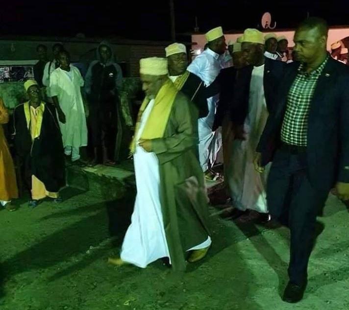 Viré de Ntsoudjini, le dictateur s'invite à Mavingouni