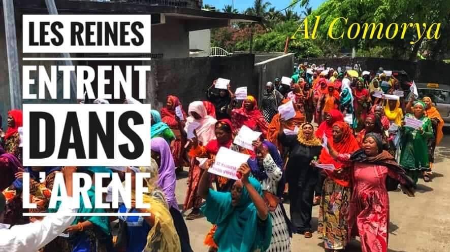 Femmes de Mohéli et femmes de Grande-Comore