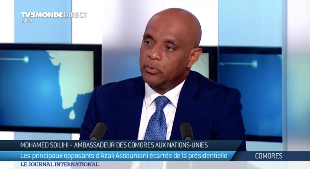 Soilih Mohamed Soilihi refuse de mâcher ses mots