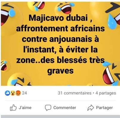 Des Anjouanais chassent des Mahorais de chez eux!