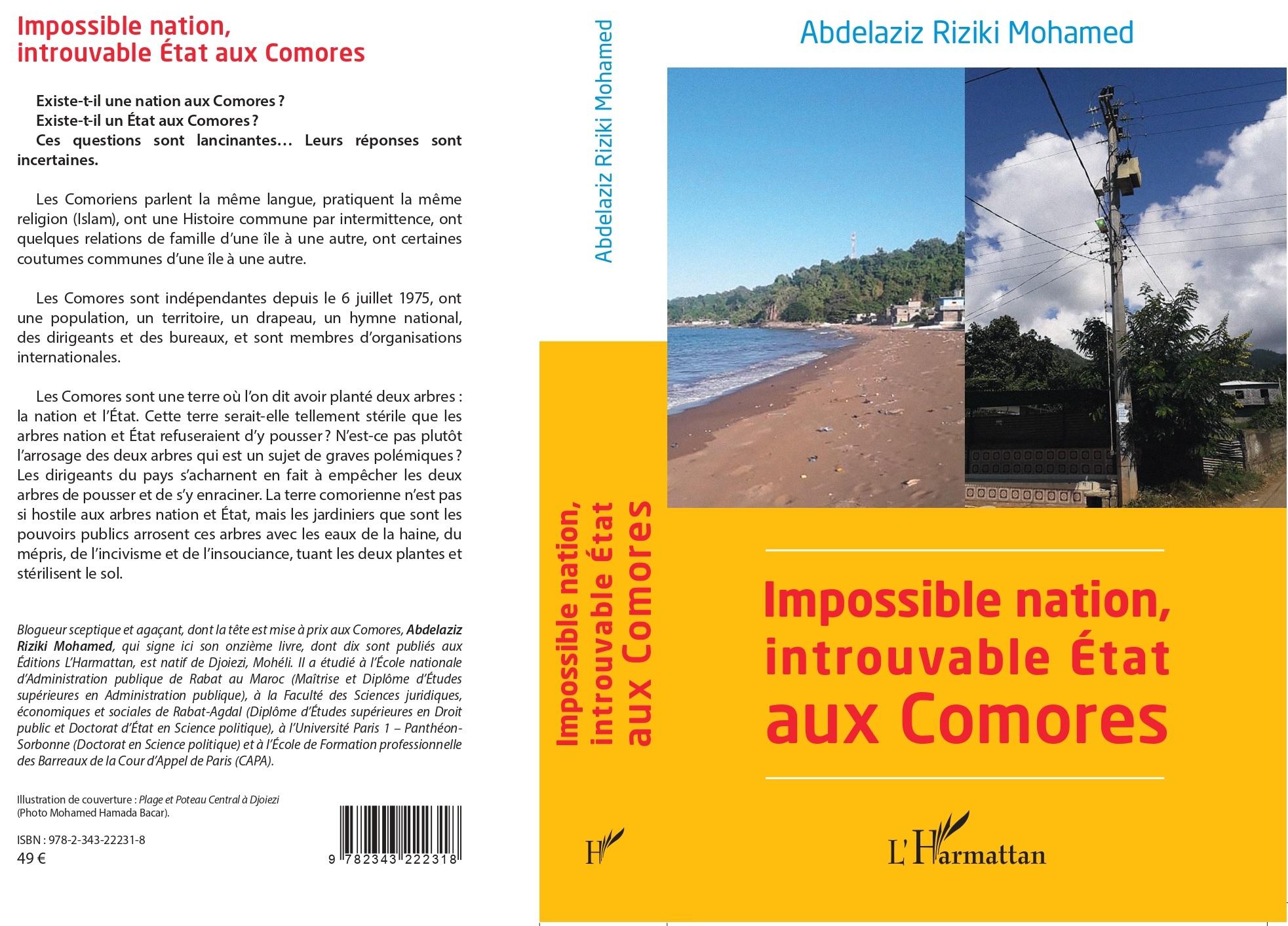 Le 11ème livre d'ARM: ni nation, ni État aux Comores